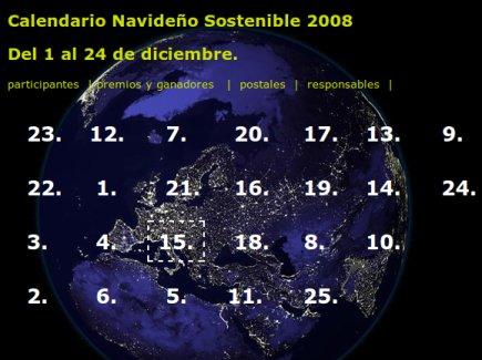 calendario sostenible ciudad redonda