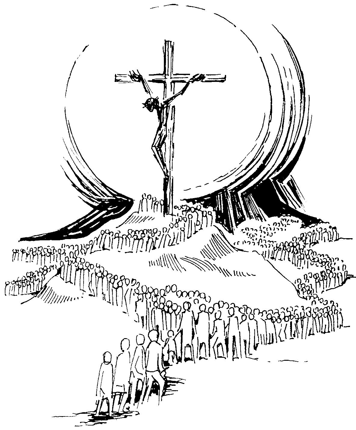 Dibujos de cruces para colorear - Dibujos para colorear - IMAGIXS