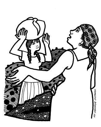 Evangelio según San Lucas (1,39-45): En aquellos días, María se puso de camino y fue a prisa a la montaña, a un pueblo de Judá; entró en casa de Zacarías y saludó a Isabel. En cuanto Isabel oyó el saludo de María, saltó la criatura en su vientre. Se llenó Isabel del Espíritu Santo y dijo a voz en grito: Lectura del santo Evangelio según San Lucas 1,39-45 En aquellos días, María se puso de camino y fue a prisa a la montaña, a un pueblo de Judá; entró en casa de Zacarías y saludó a Isabel. En cuanto Isabel oyó el saludo de María, saltó la criatura en su vientre. Se llenó Isabel del Espíritu Santo y dijo a voz en grito: «¡Bendita tú entre las mujeres, y bendito el fruto de tu vientre! ¿Quién soy yo para que me visite la madre de mi Señor? En cuanto tu saludo llegó a mis oídos, la criatura saltó de alegría en mi vientre. Dichosa tú que has creído, porque lo que te ha dicho el Señor se cumplirá.» Palabra de Dio, del domingo, 20 de diciembre de 2015