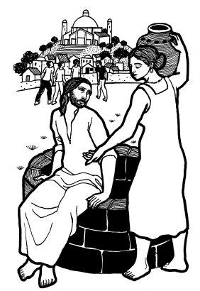 Evangelio según san Juan (4,5-42), del domingo, 19 de marzo de 2017