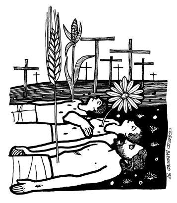 Evangelio según san Juan (12,20-33), del domingo, 18 de marzo de 2018
