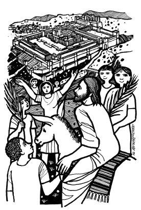Evangelio segúnto según san Marcos (15,1-39), del domingo, 29 de marzo de 2015