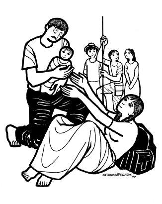 Evangelio según san Juan (1,1-18), del lunes, 25 de diciembre de 2017