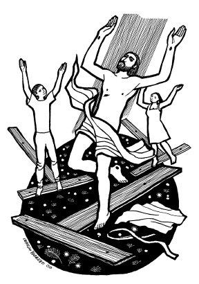 Evangelio según san Juan (20,1-9), del domingo, 16 de abril de 2017