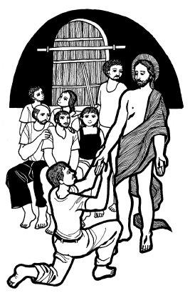 Evangelio según san Juan (20,19-31), del domingo, 23 de abril de 2017