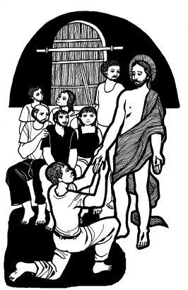 Evangelio según san Juan (20,19-31), del domingo, 8 de abril de 2018