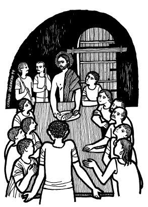 Evangelio según san Lucas (24,35-48), del domingo, 19 de abril de 2015