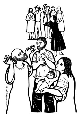Evangelio según san Lucas (2,22-40), del lunes, 2 de febrero de 2015
