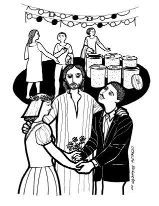 Evangelio según san Juan (2,1-11), del domingo, 17 de enero de 2016