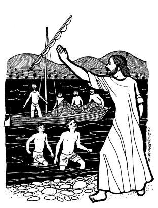 Evangelio según san Marcos (1,14-20), del domingo, 21 de enero de 2018