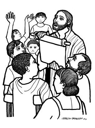 Evangelio según san Lucas (1,1-4;4,14-21), del domingo, 24 de enero de 2016
