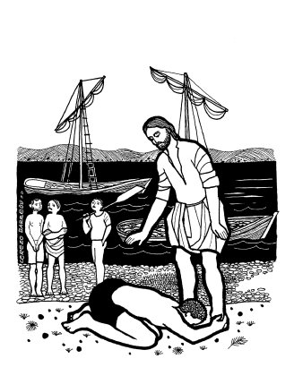 Evangelio según san Lucas (5,1-11), del domingo, 7 de febrero de 2016