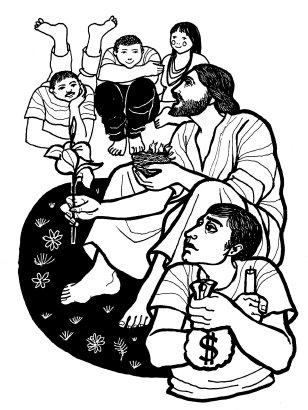 Evangelio según san Mateo (6,24-34), del domingo, 26 de febrero de 2017