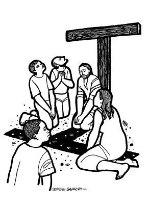 Evangelio según san Lucas (9,18-24), del domingo, 19 de junio de 2016