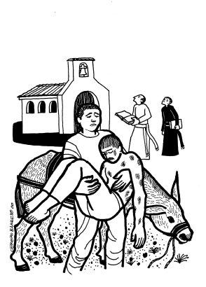 Evangelio según san Lucas (10,25-37), del domingo, 10 de julio de 2016