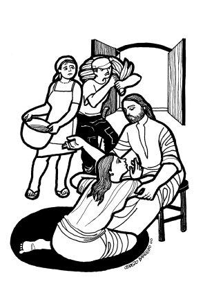 Evangelio según san Lucas (10, 38-42), del domingo, 17 de julio de 2016