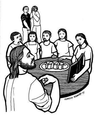 Evangelio según san Juan (6,41-51), del domingo, 9 de agosto de 2015