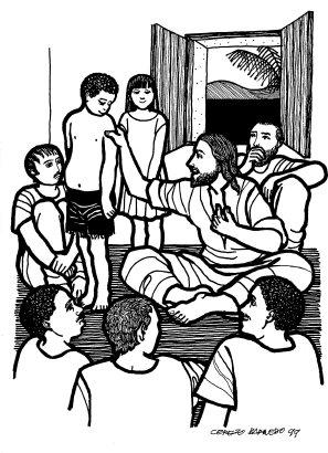 Evangelio según san Marcos (9,30-37), del domingo, 20 de septiembre de 2015