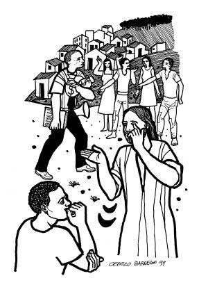 Evangelio según san Marcos (9,38-43.45.47-48), del domingo, 27 de septiembre de 2015