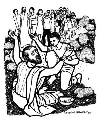 Evangelio según san Marcos (10,46-52), del domingo, 25 de octubre de 2015