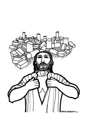 Evangelio según san Lucas (21,5-19), del domingo, 13 de noviembre de 2016