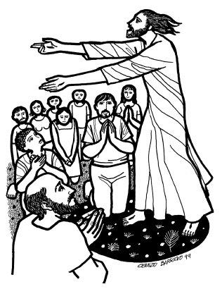 Evangelio según En aquel tiempo, los once discípulos se fueron a Galilea, al monte que Jesús les había indicado. Al verlo, ellos se postraron, pero algunos vacilaban. Acercándose a ellos, Jesús les dijo: «Se me ha dado pleno poder en el cielo y en la tierra. Id y haced discípulos de todos los pueblos, bautizándolos en el nombre del Padre y del Hijo y del Espíritu Santo; y enseñándoles a guardar todo lo que os he mandado. Y sabed que yo estoy con vosotros todos los días, hasta el fin del mundo.»  Palabra d, del domingo, 31 de mayo de 2015