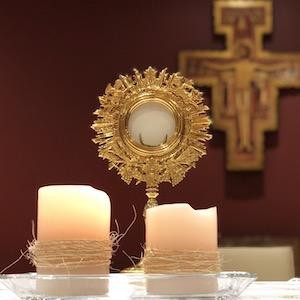 La Eucaristía, compartir el pan con Jesús...