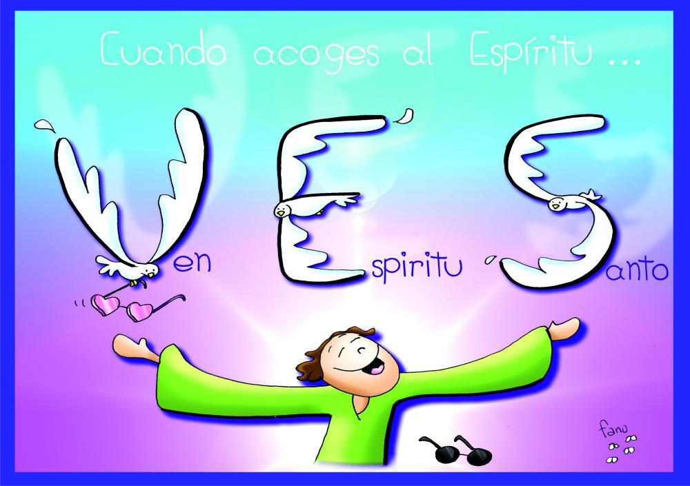 Evangelio Seglar Para El Domingo De Pentecostés 15 De Mayo