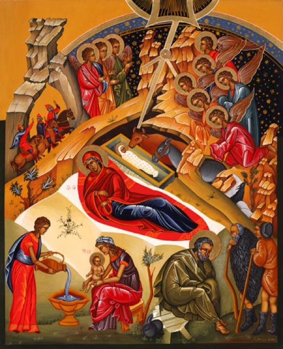 El icono de la Natividad del Señor - Maria de Nazaret - Ciudad Redonda