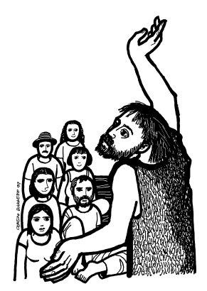 Evangelio según san Marcos (1,1-8), del domingo, 6 de diciembre de 2020