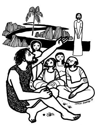 Evangelio según san Juan (1,6-8.19-28), del domingo, 13 de diciembre de 2020