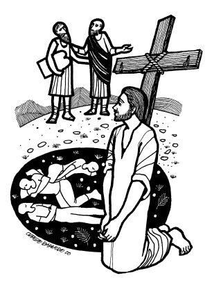 Evangelio según san Lucas (9,28b-36), del domingo, 17 de marzo de 2019