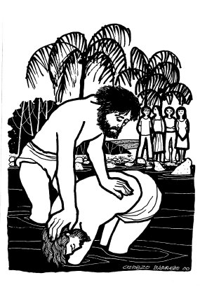 Evangelio según san Lucas (3,15-16.21-22), del domingo, 13 de enero de 2019