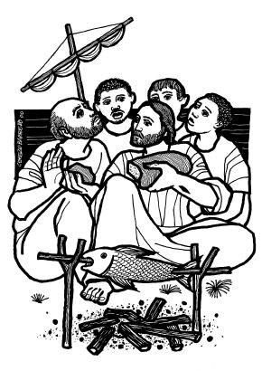 Evangelio según san Juan (21,1-19), del domingo, 5 de mayo de 2019