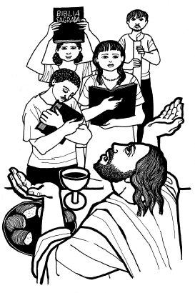 Evangelio segúngún san Mateo (28,16-20), del domingo, 24 de mayo de 2020