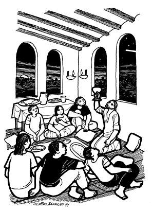 Evangelio según san Marcos (14,12-16.22-26), del domingo, 23 de junio de 2019