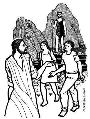 Evangelio según san Juan (1,35-42), del domingo, 17 de enero de 2021