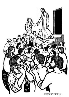 Evangelio según san Marcos. [Mc 3, 20-35, del domingo, 10 de junio de 2018