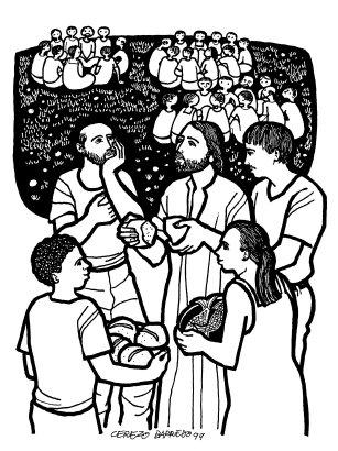 Evangelio según san Juan (6,1-15), del domingo, 29 de julio de 2018