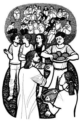 Evangelio según san Mateo (14,13-21), del domingo, 2 de agosto de 2020