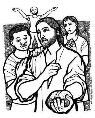 Evangelio según san Juan (6,24-35), del domingo, 5 de agosto de 2018
