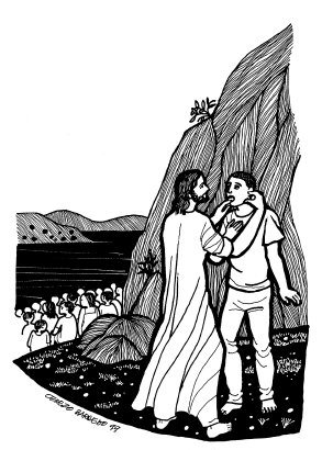 Evangelio según san Marcos (7,31-37), del domingo, 9 de septiembre de 2018