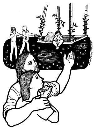 Evangelio según san Lucas (14,25-33), del domingo, 8 de septiembre de 2019
