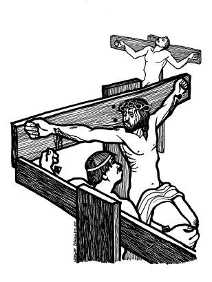 Evangelio segúnn san Lucas (23,35-43), del domingo, 24 de noviembre de 2019